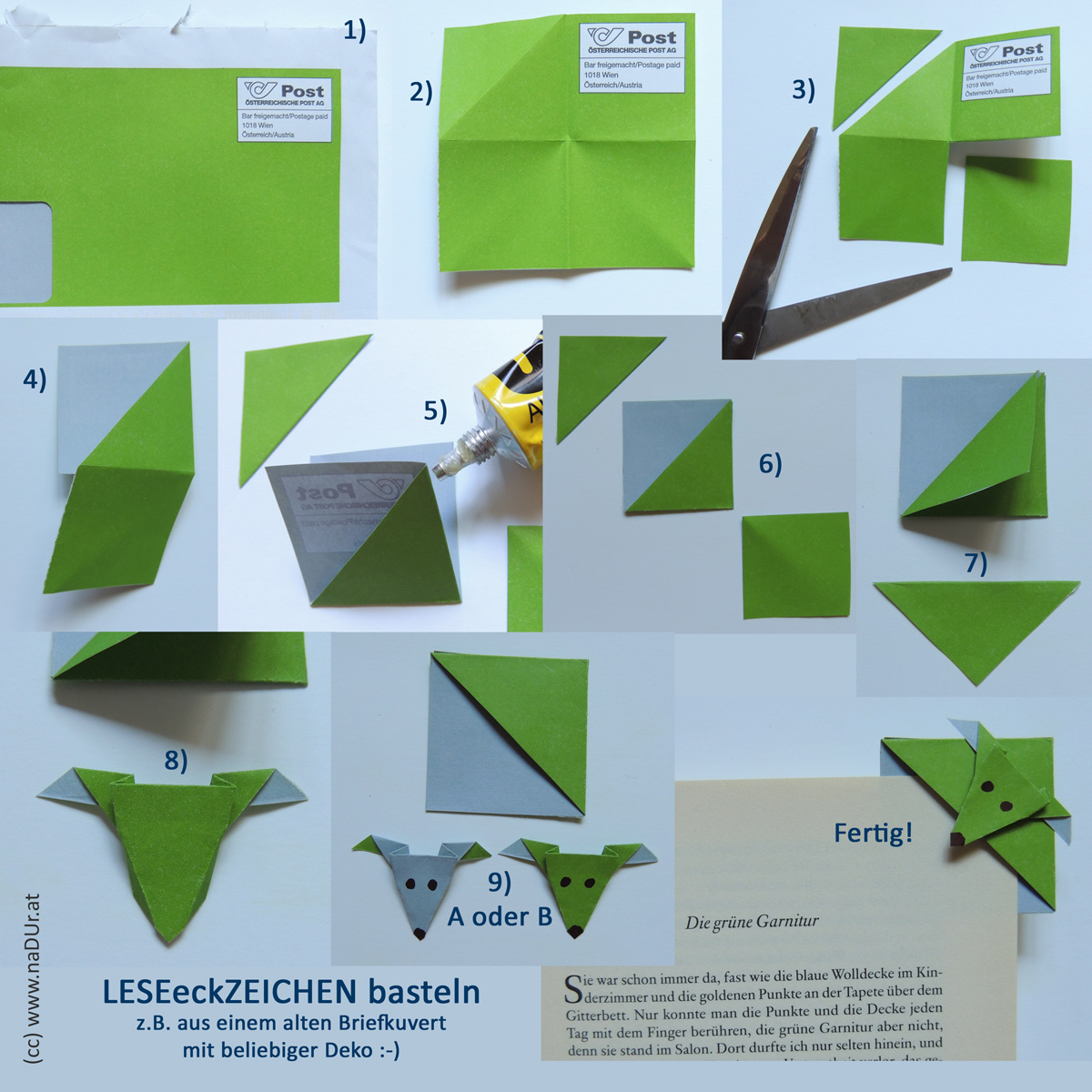 How To Make A Origami Triangle Bookmark